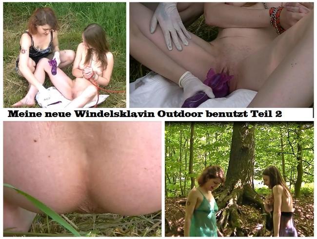 Video Thumbnail Meine neue Windelsklavin Outdoor benutzt Teil 2