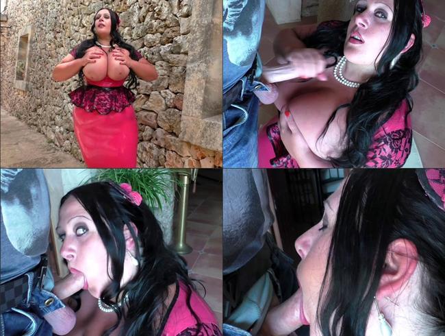 Video Thumbnail Im Wohnzimmer von der Latex Lady befriedigt