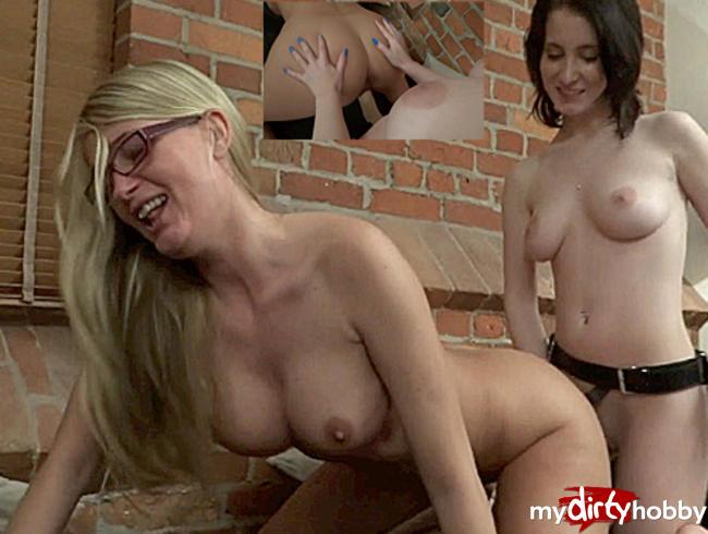 Video Thumbnail Mega geiler Lesbian Fick!!!