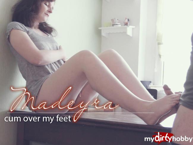 Video Thumbnail cum over my feet