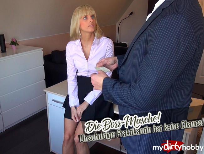 Video Thumbnail Die Boss-Masche! Unschuldige Praktikantin hat keine Chance!