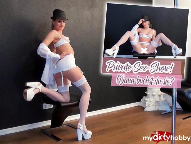 Video Thumbnail Private Sex-Show! Wann buchst du sie?