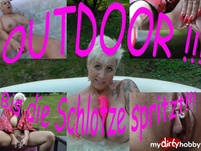 Video Thumbnail Outdoor!!! Bis die Schlotze spritzt!!!