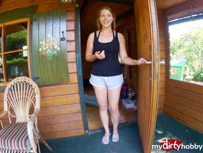 Video Thumbnail Vor dem BADEN will ich BLASEN! Kumpel im dreckigen Gartenhäuschen entsaftet