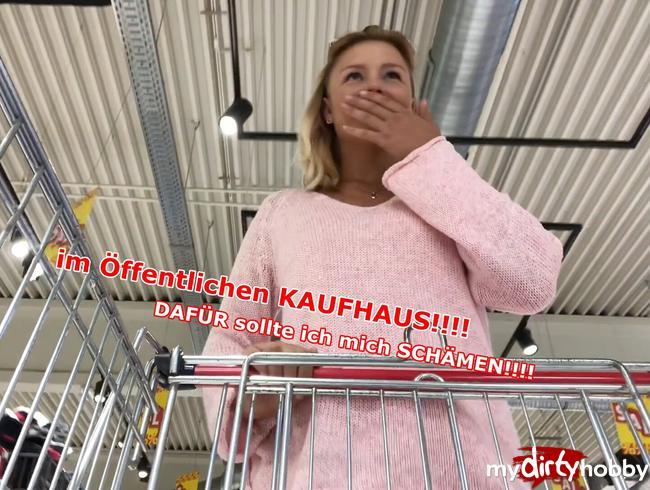 Video Thumbnail Im öffentlichen KAUFHAUS!!!! DAFÜR sollte ich mich SCHÄMEN!!!!!!!!
