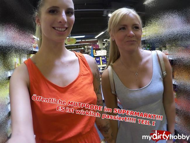 Video Thumbnail Öffentliche Mutprobe im Supermarkt!!!  ES ist WIRKLICH passiert!!!!!!! Teil 1