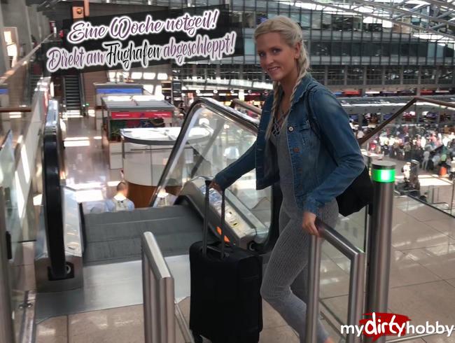 Video Thumbnail Eine Woche notgeil! Direkt am Flughafen abgeschleppt!