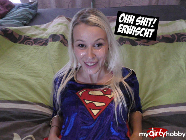 Video Thumbnail Vollgewichste Superwoman im Bett erwischt