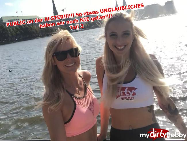 Video Thumbnail PUBLIC an der ALSTER!!!!!! So etwas UNGLAUBLICHES haben wir noch NIE getan!!!! Teil 2