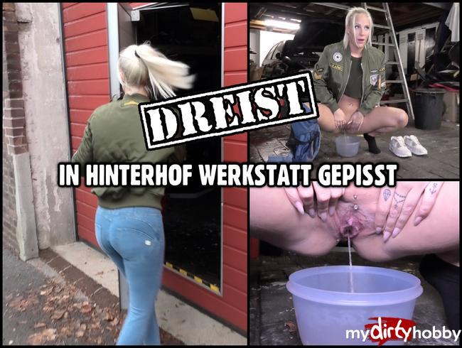 Video Thumbnail DREIST GEPISST | Mitten in eine fremde Hinterhof Werkstatt