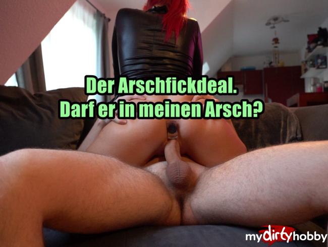 Video Thumbnail Der Arschfickdeal. Beide Löcher gestopft