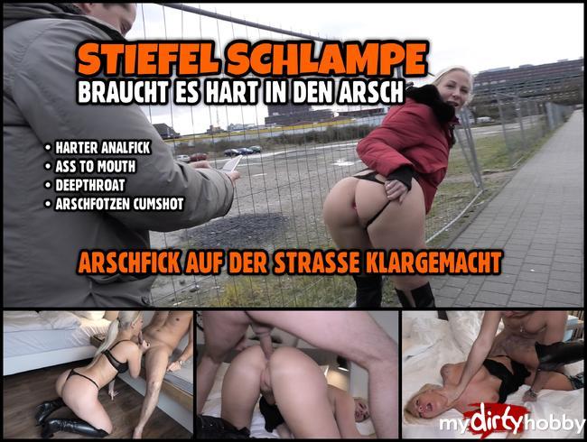 Video Thumbnail Stiefel Schlampe ANAL ZERFICKT | ARSCHFICK DATE auf der Strasse klargemacht
