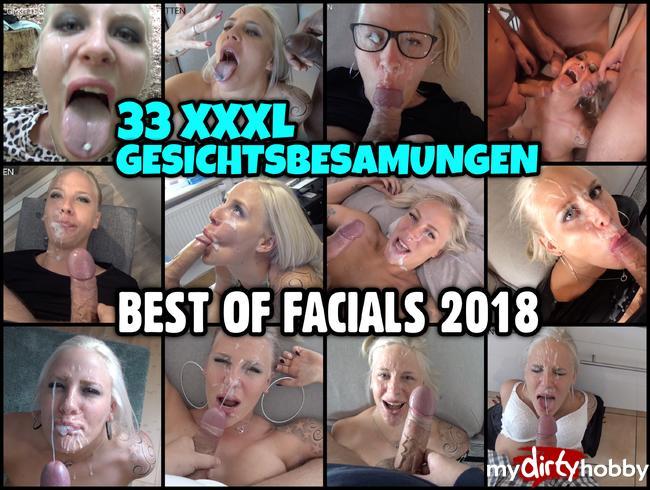 Video Thumbnail BEST OF FACIALS 2018 | 33 XXXL GESICHTSBESAMUNGEN
