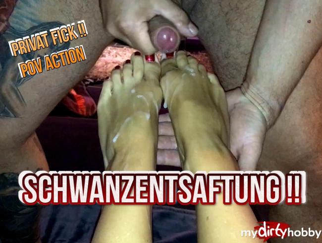 Video Thumbnail Sperma Explosion auf meine Füße ...
