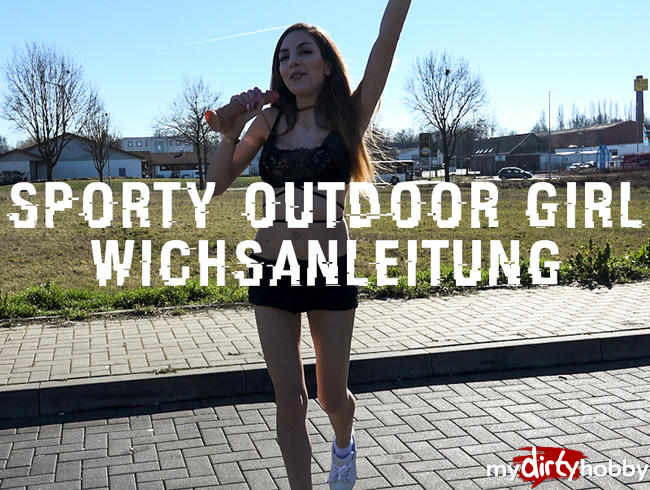 Video Thumbnail Sporty Outdoor Girl Wichsanleitung