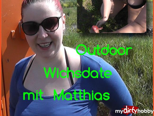 Video Thumbnail Userwichsdate! Outdoor den Schwanz abgewichst