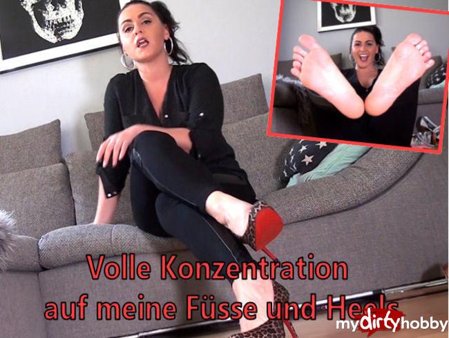 Video Thumbnail Volle Konzentration auf meine Füsse und Heels!