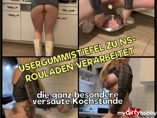 Video Thumbnail Usergummistiefel zu Rouladen verarbeitet - die ganz besonders versaute Kochstunde mit Natursekt