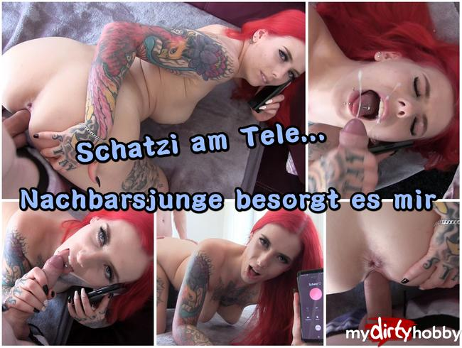Video Thumbnail TeleSEX mit Fremdfick endet mit mega FACIAL