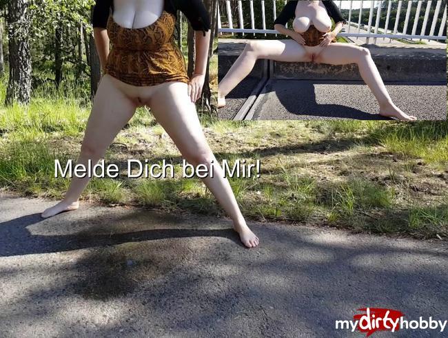 deutschesgirl - Piss Pinkel Pause!