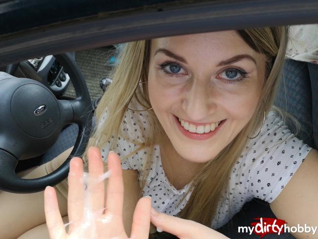 Video Thumbnail Schwanz wäre fast geplatzt! - auf der Autofahrt not-entsaftet