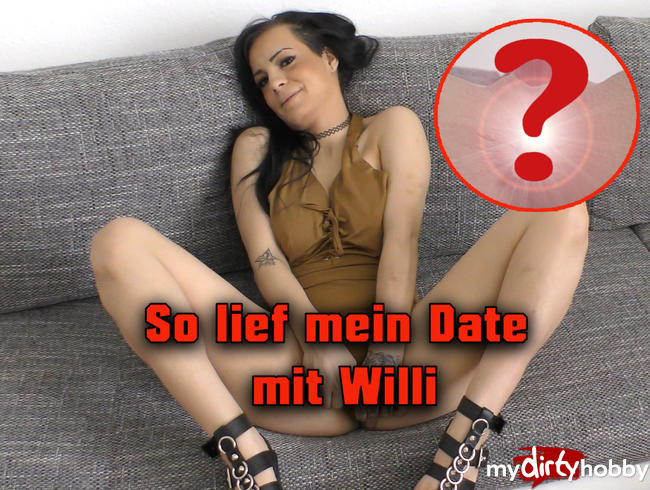 Video Thumbnail So lief mein Date mit Willi