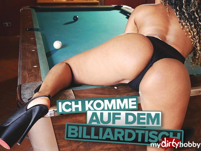 Video Thumbnail Ich komme auf dem Billiardtisch!