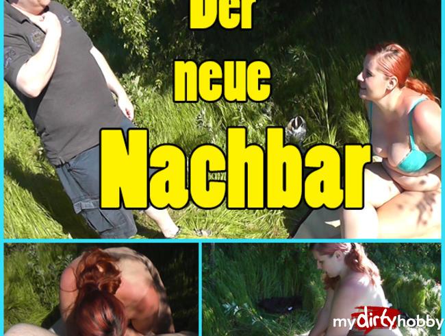 Video Thumbnail Mein neuer Nachbar fickt mich! Outdoor