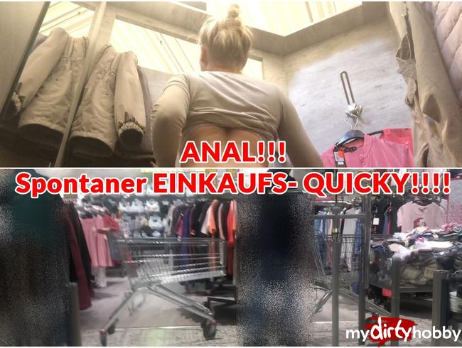 Video Thumbnail ANAL!! Spontaner EINKAUFS- QUICKY!!!!!!