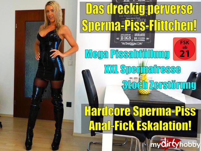 Video Thumbnail Das dreckig perverse Latexfickstuten-Saft-Depot | No Limit Hardcore Sperma-Piss-Anal-Fick-Eskalation