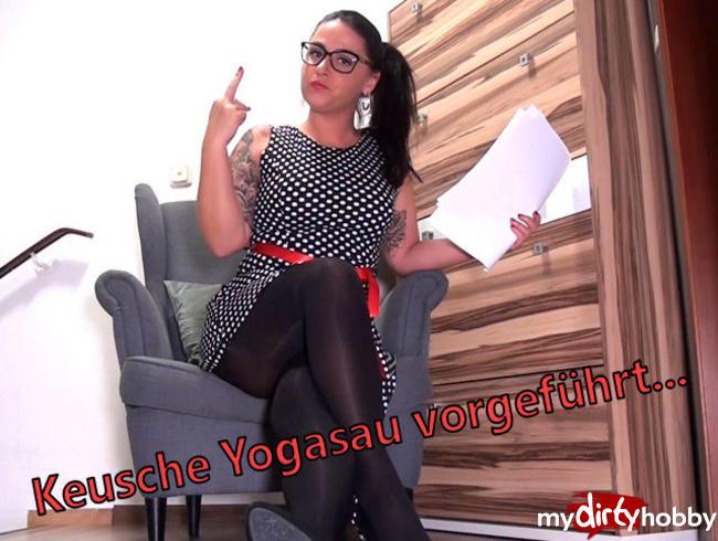 Video Thumbnail Keusche Yogasau vrgeführt...