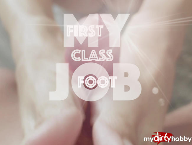 Video Thumbnail My First Class Footjob