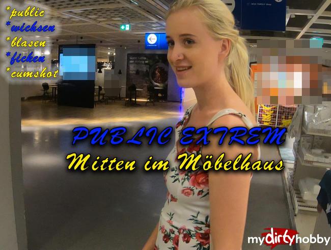 Video Thumbnail PUBLIC EXTREM! Mitten im Möbelladen