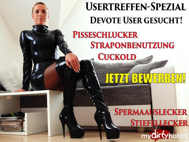 Video Thumbnail Usertreffen SPEZIAL | Devote User gesucht! Jetzt bewerben!