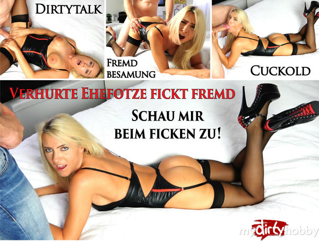 Video Thumbnail Schau mir beim Ficken zu Cucki | Verhurte Ehefotze fickt fremd! Fucking Hot Dirtytalk!