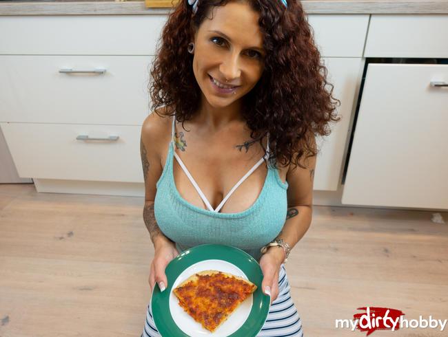 """Video Thumbnail Pizza """"Speciale"""" -verrückte Idee vom Stiefbruder."""