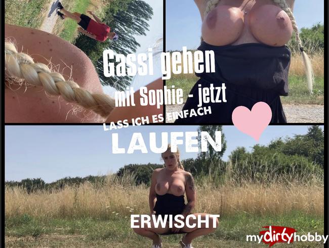 devil-sophie - Gassi gehen mit Sophie - ERWISCHT - jetzt lass ich es einfach laufen :)