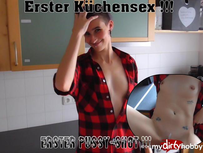 Video Thumbnail Mein erster Sex in der Küche!!! und mein erster Pussy-Shot!!!