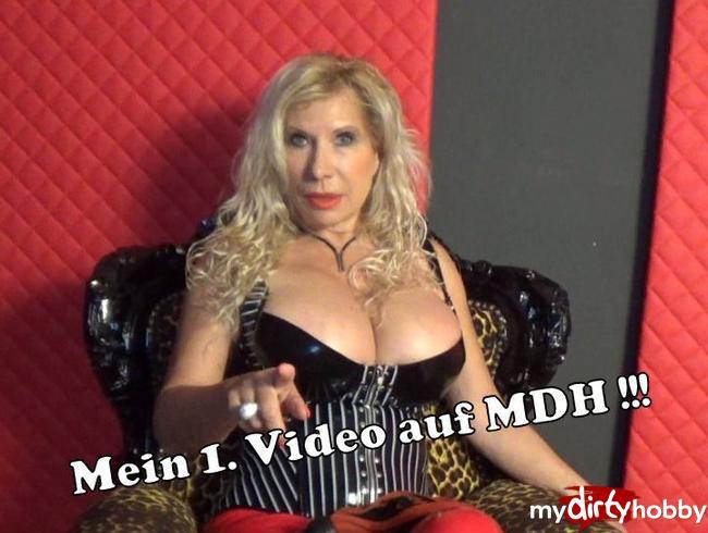 Video Thumbnail Mein 1. Video auf MDH