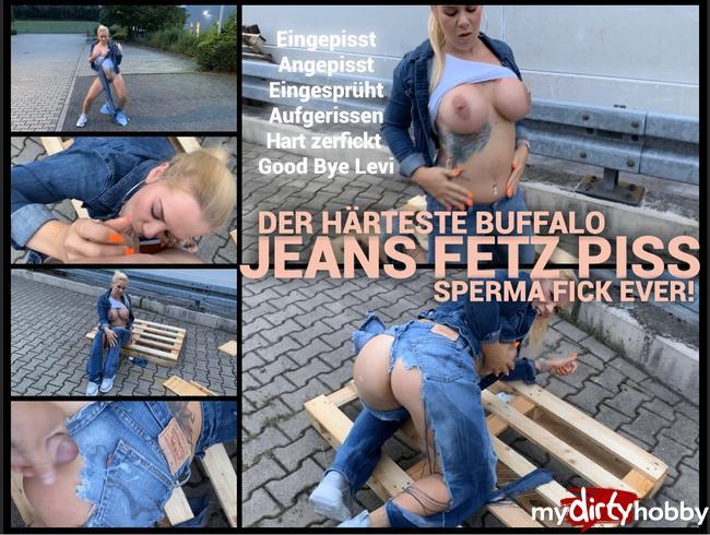 devil-sophie - Der härteste Jeans Fetz buffalo Rotz Piss Sperma Outdoor Zerstörungs Fick ever