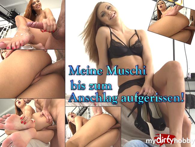 Video Thumbnail Meine Muschi bis zum Anschlag aufgerissen!