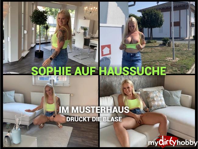 devil-sophie - Sophie auf Haussuche - im Musterhaus drückte die Blase ;P