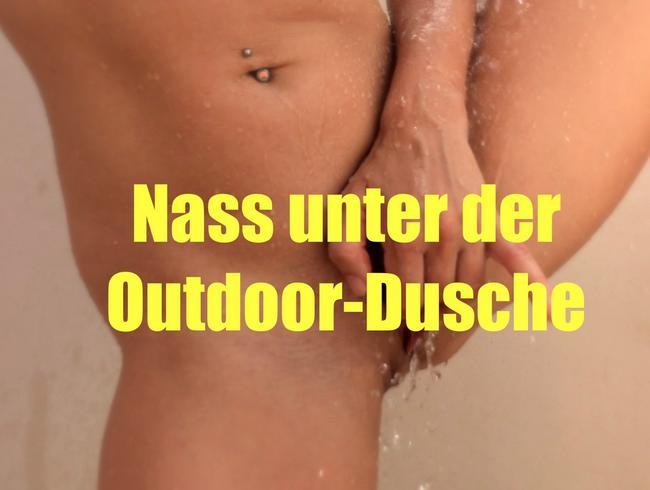 Video Thumbnail Nass unter der Outdoor-Dusche