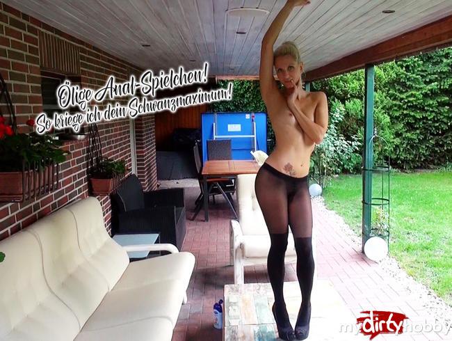 Video Thumbnail Ölige Anal-Spielchen! So kriege ich dein Schwanzmaximum!