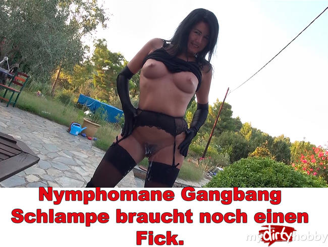 Video Thumbnail Nymphomane Gangbang Schlampe braucht noch einen Fick.