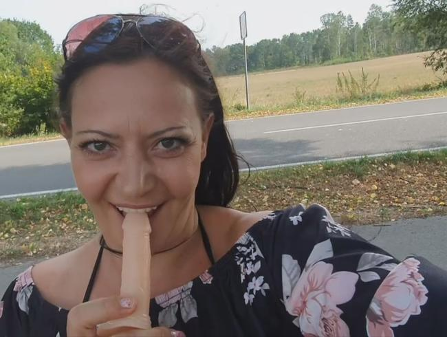Video Thumbnail MEIN DILDO to GO!!! OUTDOOR und PUBLIC MASTURBIEREN