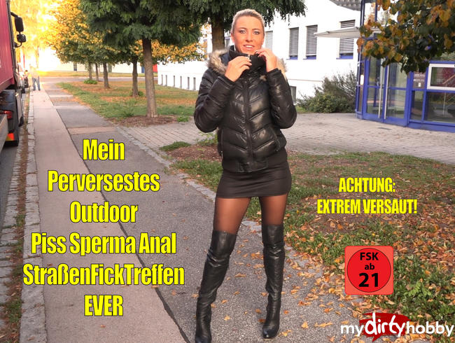 Video Thumbnail Mein PERVERSESTES Outdoor PissSpermaAnalFickTreffen EVER | EXTREME SAFTEXPLOSIONEN!!!