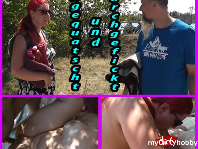 Video Thumbnail Dreist angemacht zum Ficken! Outdoorfick mit Notgeilen Spinner!