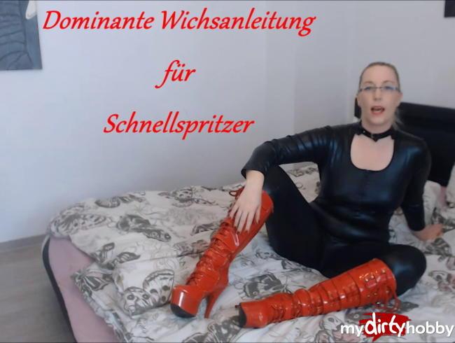 Video Thumbnail Dominante Wichsanleitung für Schnellspritzer!