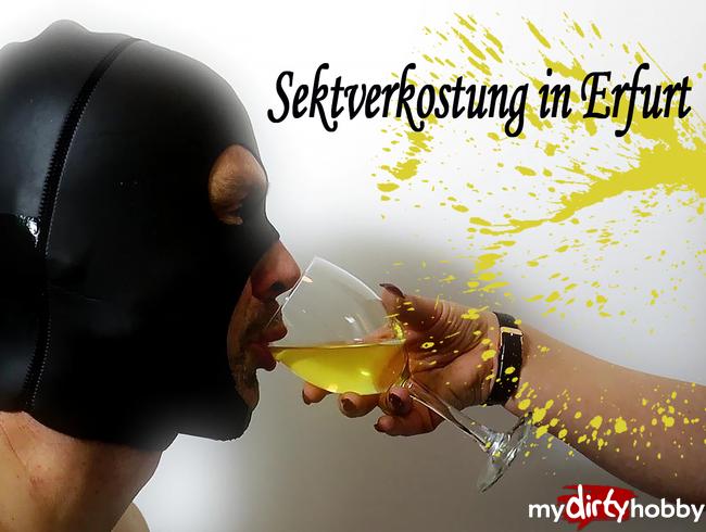Video Thumbnail Sektverkostung in Erfurt